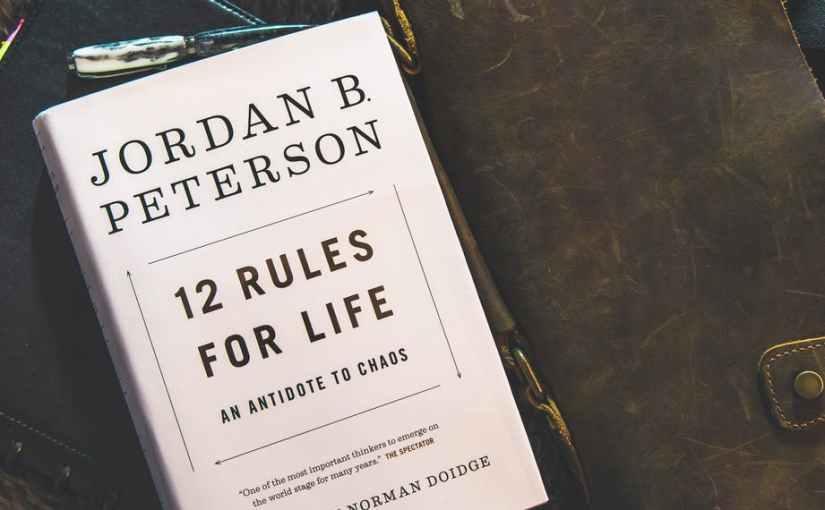 Jordan Peterson håller på med sin nyabok